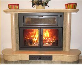 Ekostar il termocamino con forno brevettato isokalor - Camino con forno ...